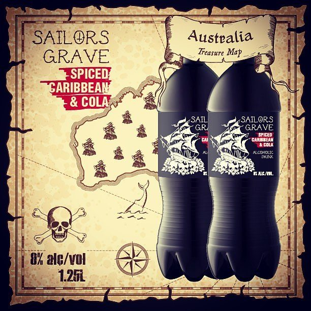 New Sailors Grave Spiced Carribean & Cola now in stock (8% ABV 1.25 litre)